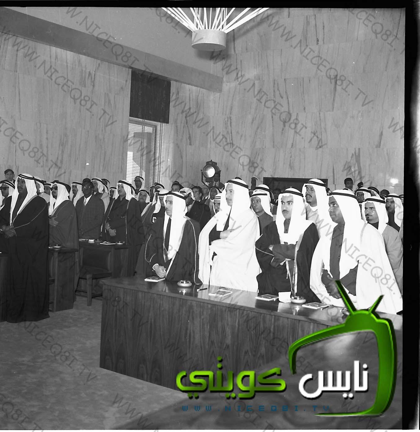 الوزراء واعضاء مجلس الامه التأسيسي