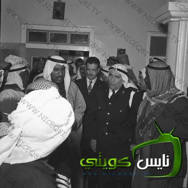 الامير الوالد الشيخ سعد العبدالله اثناء تفقده
