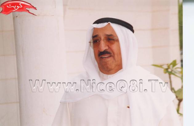 صورة نادرة للشيخ عبدالله الجابر في احدى الجلس
