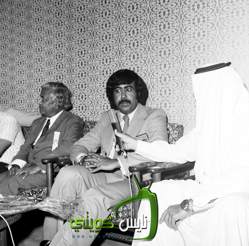 لقاء مع الشيخ فهد الاحمد - وصول المنتخب من طه