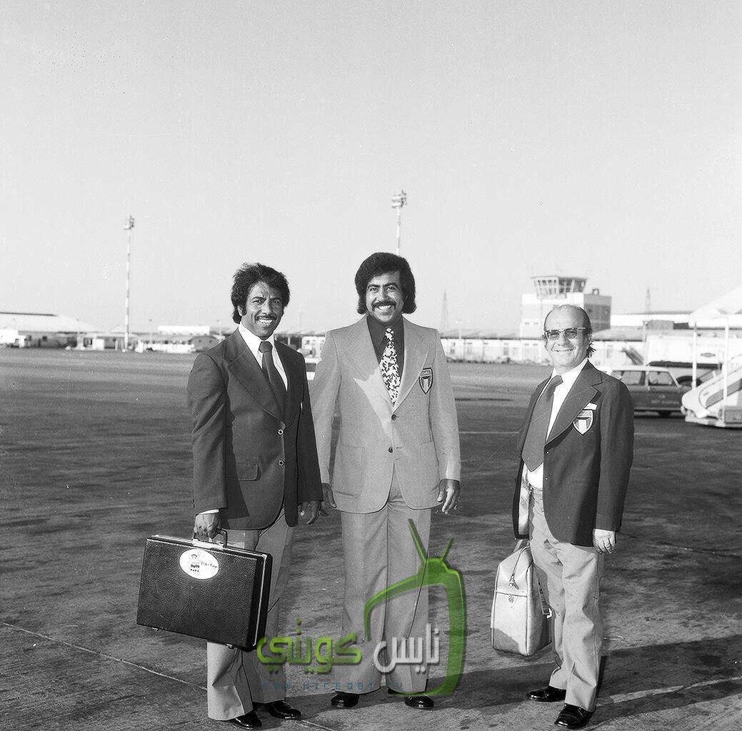 الشيخ فهد الاحمد مع شيخ المعليق خالد الحربان