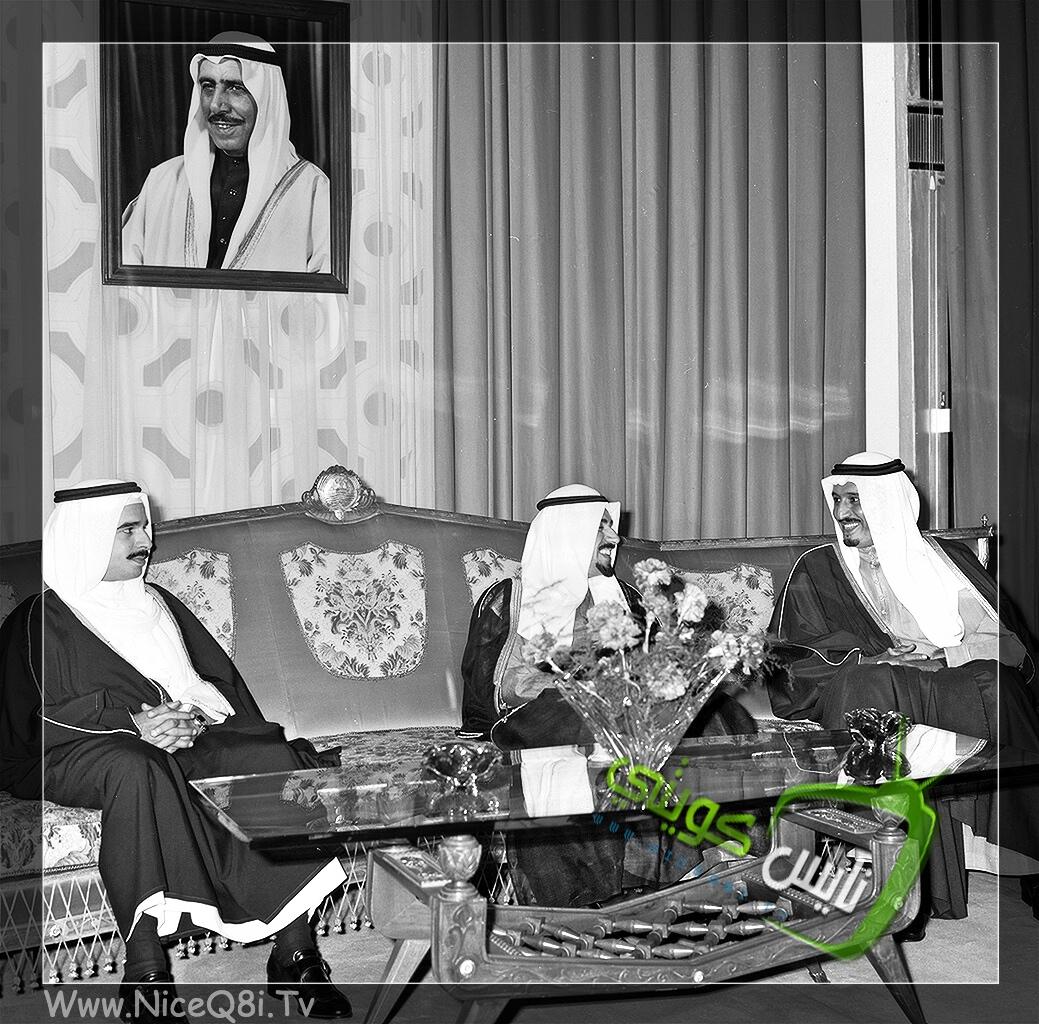 الملك سلمان بن عبدالعزيز - الشيخ جابر الاحمد