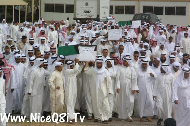 من الخرائط تانب نبين الحدود بين الكويت والعرا
